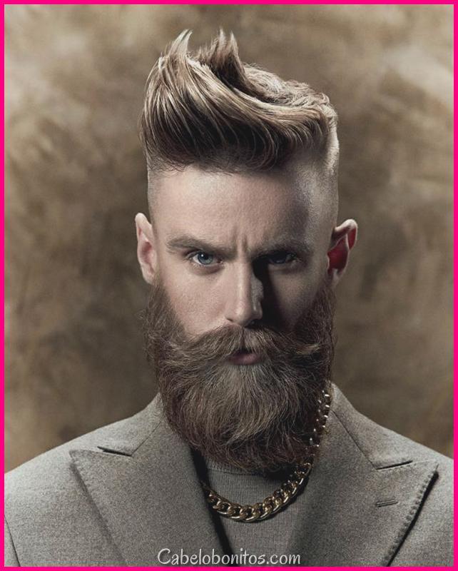 Estilos de incisão de cabelo mais recentes para os homens 2018 para uma bela aspecto