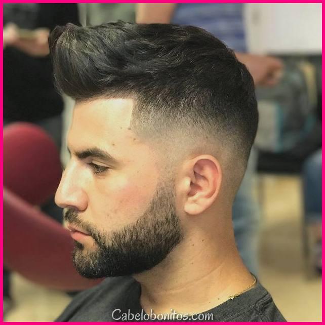 Novos Melhores Penteados Curtos para Homens 2018