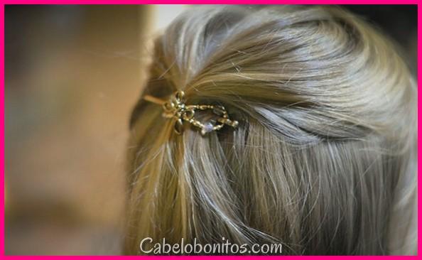 27 penteados bonitos e fáceis com fotos