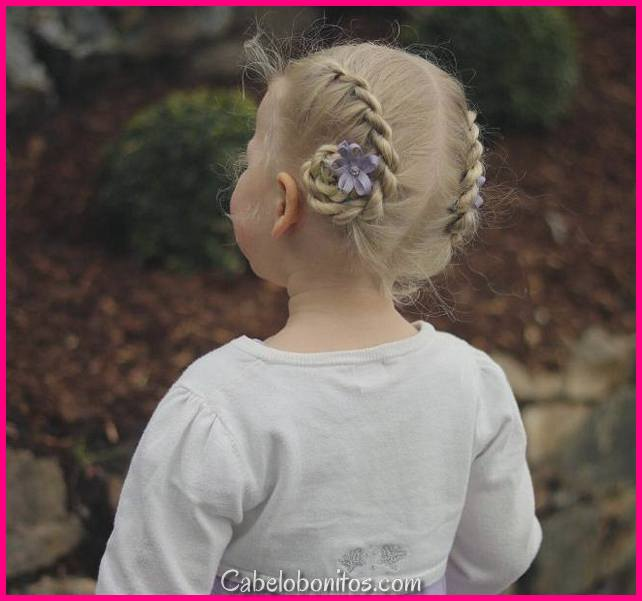 Easy Updos Rápido Para Crianças 2018 |  Penteados fáceis Little Girl |  Penteados Updo Kids