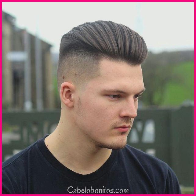Melhor Top 30 cortes de cabelo para homens grosso cabelo 2018