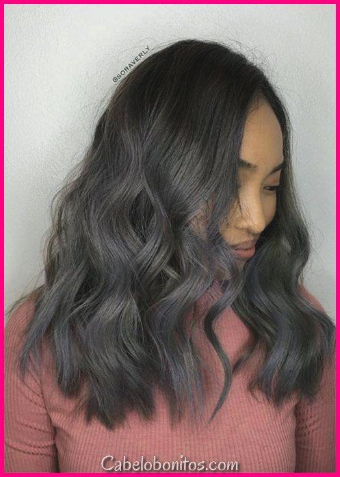 51 sedutoras penteados de comprimento médio e cortes de cabelo para as mulheres experimentarem