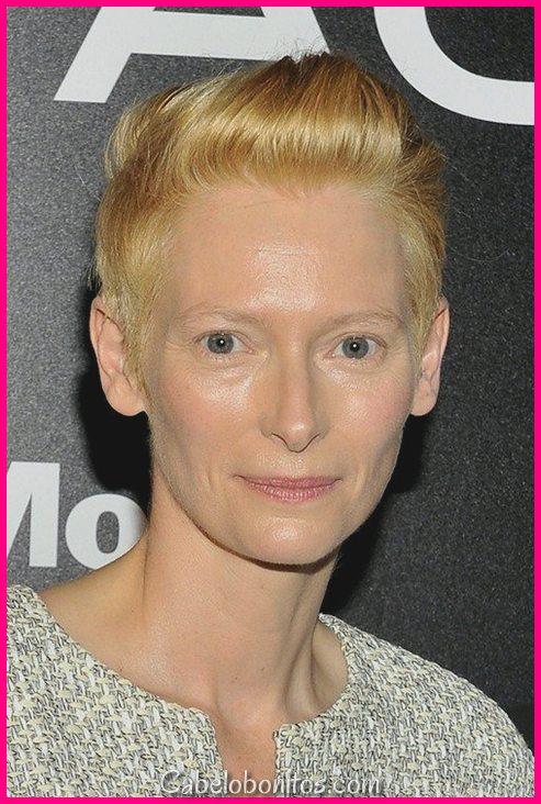 Penteados de 15 Pixie para mulheres supra de 50 anos