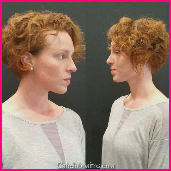 Máscaras ardentes para fabricar um look extremamente quente para cabelos curtos