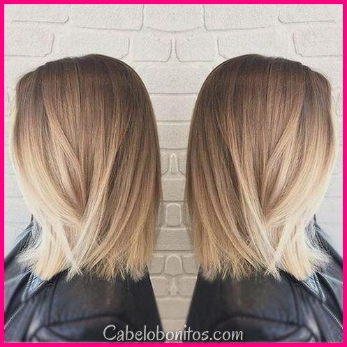 33 Melhores penteados Balayage para cabelos lisos para 2018