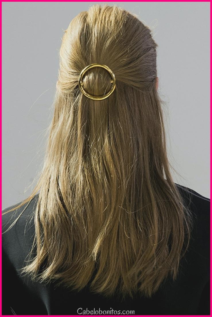 Penteados de himeneu idéias simples de grande impacto e formosura
