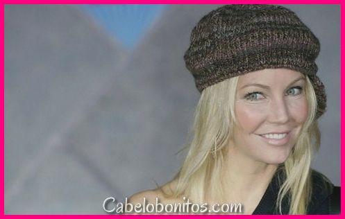 Penteados Heather Locklear - Camadas, Dos, Buns soltos e cortes de cabelo casuais