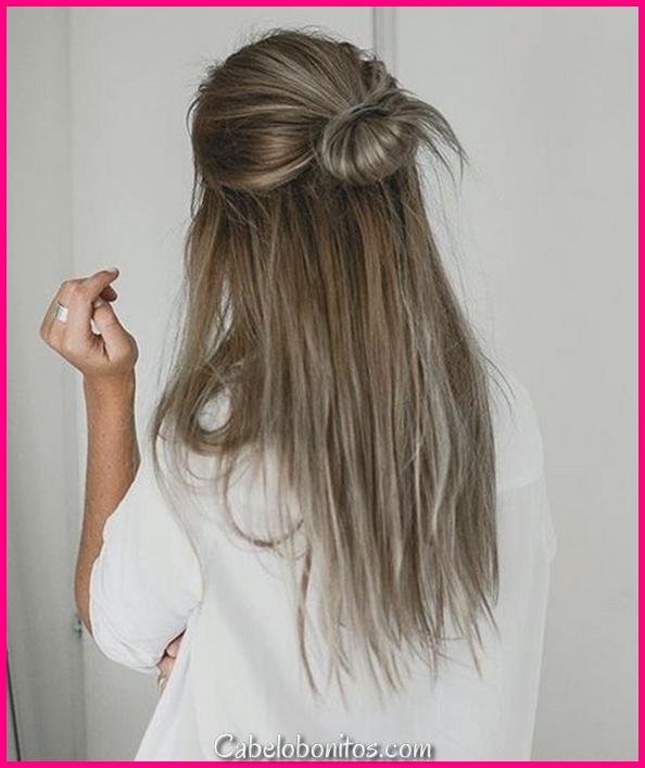 40 rápido e fácil de volta ao penteado da escola para cabelos longos