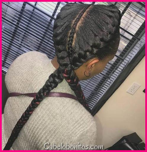50 tranças etéreas diva para enfeitar seu cabelo