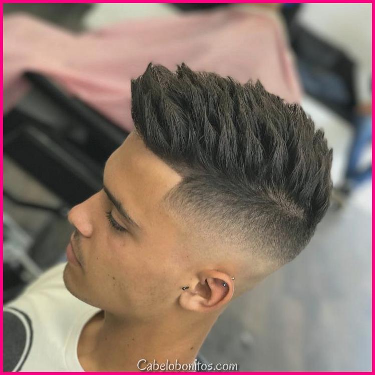 O golpe de cabelo 2018 varão em todas as suas formas para um visual moderno