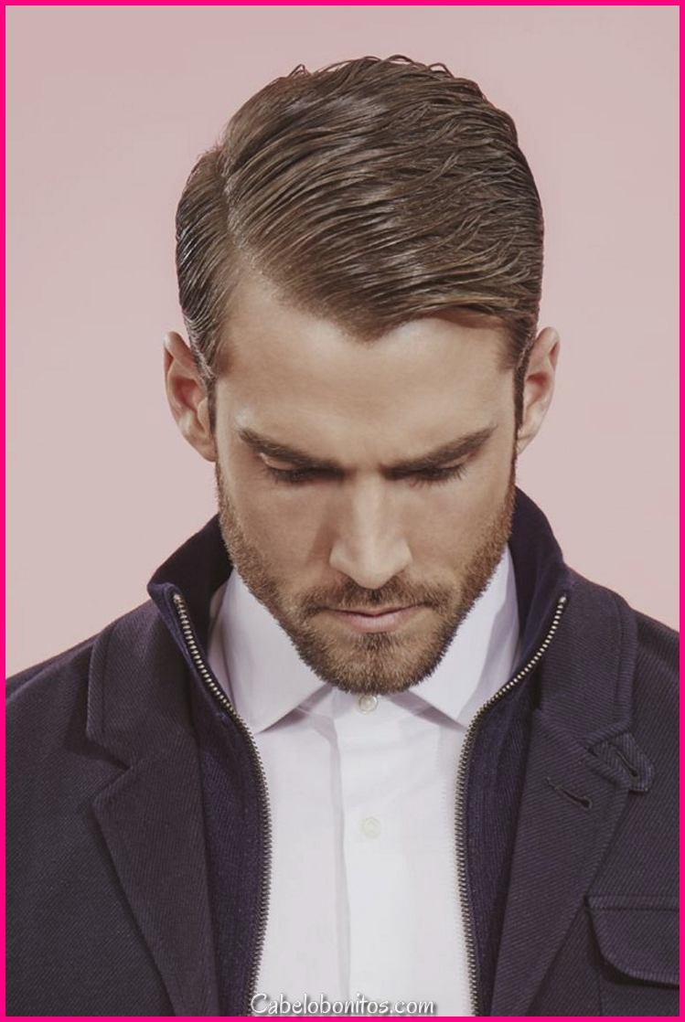 Corte de cabelo masculino - tendência 2018 para esta queda