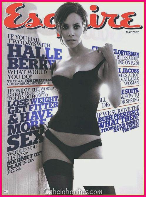 Halle Berry Haircuts - Cabelo Curto, Cabelo Comprido, Pixie e Penteados Encaracolados