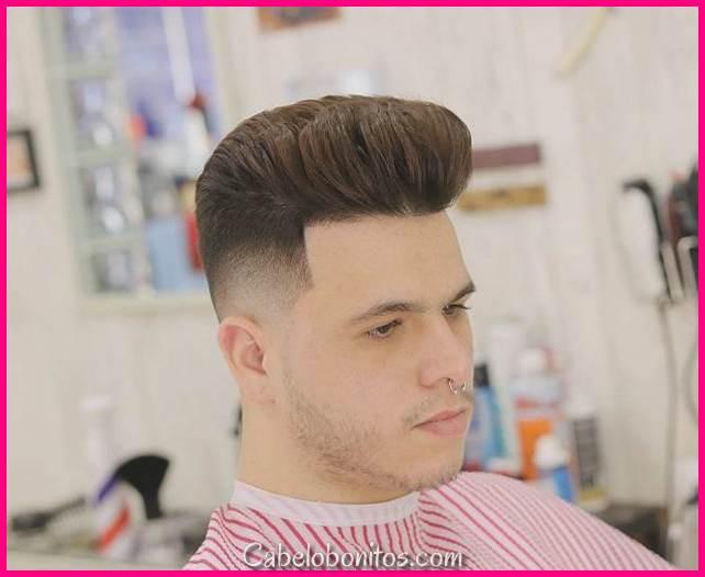 Mais recentes cortes de cabelo faceta para homens 2018 para impressionar meninas