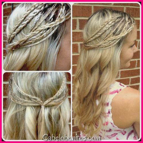 51 penteados incríveis para cabelos cacheados que você pode fazer sozinho