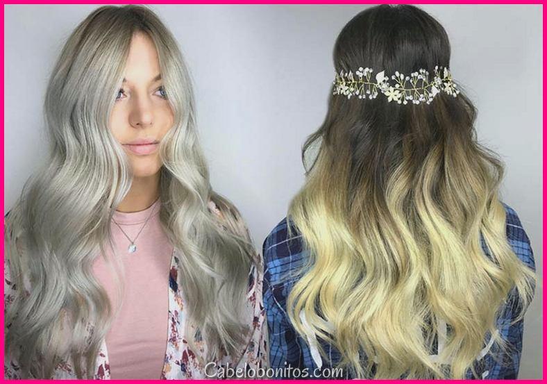 Shades da cor do cabelo louro: Como tingir o cabelo louro & uma vez que mantê-lo