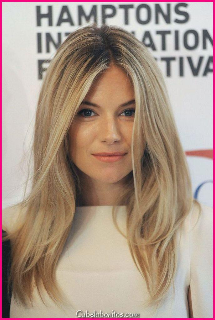 27 penteados longos e mais glamourosos para mulheres