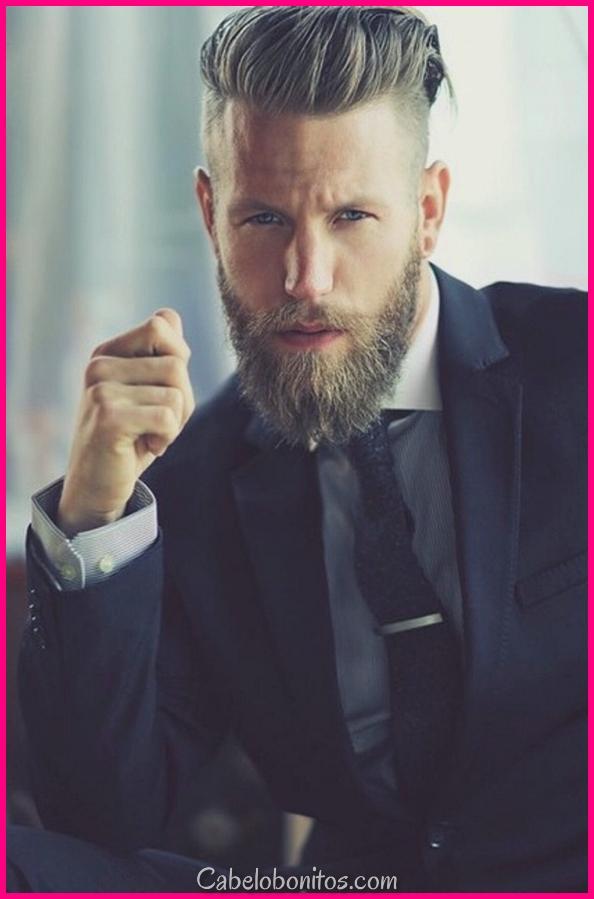 45 estilos longos e completos da barba