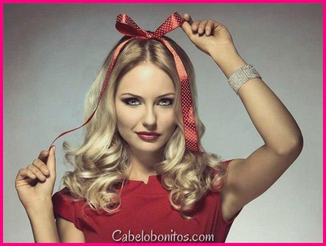 Penteados para sarau de natalício de 21 anos 2018-penteado para moça de natalício