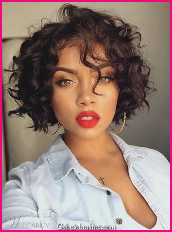 45 lindos penteados bob para mulheres negras
