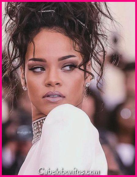 51 Top Rihanna penteados que valem a pena tentar para cada moçoila