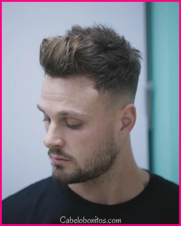 40 cortes de cabelo curtos frescos para meninos