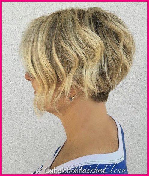 32 cortes de cabelo curtos para cabelos ondulados para parecer arrebatador