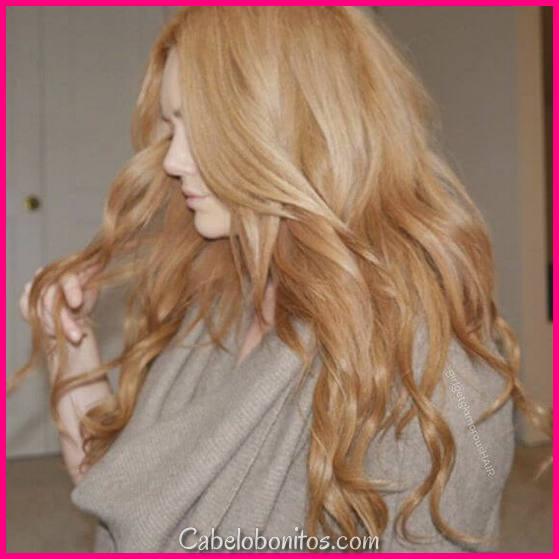 50 das cores de cabelo loiro morango mais na voga para levante ano