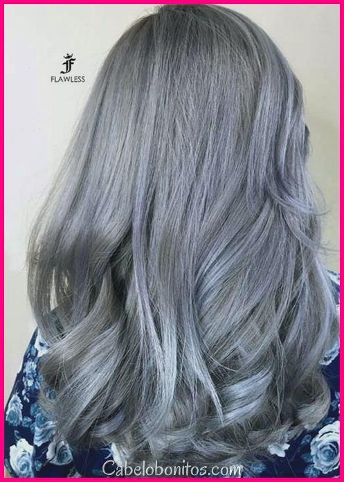 Tendência de cabelo prata: 51 Cool Gray cores de cabelo e dicas para ir cinza