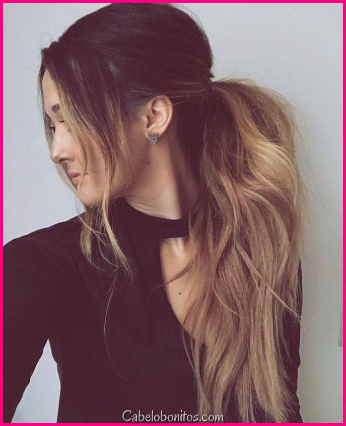 30 interessante e charmoso penteados bagunçados para mulheres