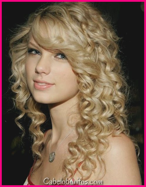 30 populares e na tendência penteados encaracolados para meninas adolescentes