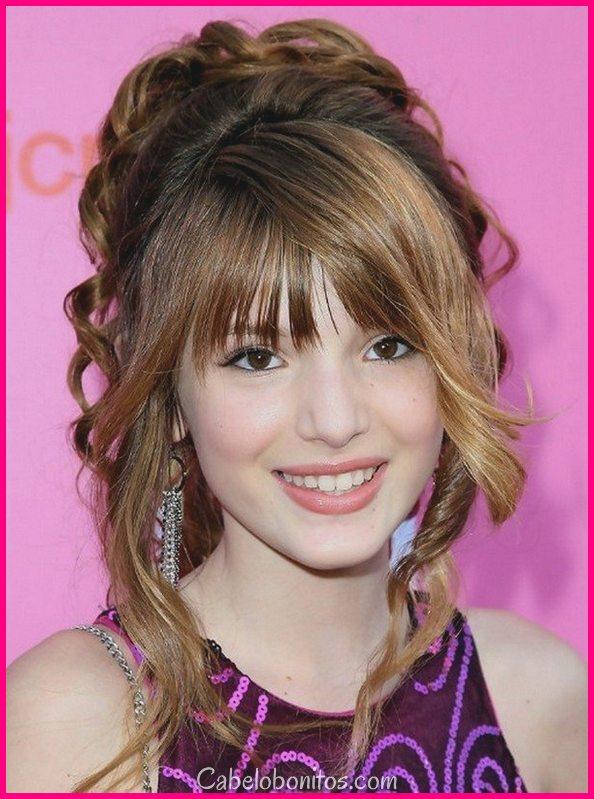 18 penteados para meninas adolescentes para olhar encantador