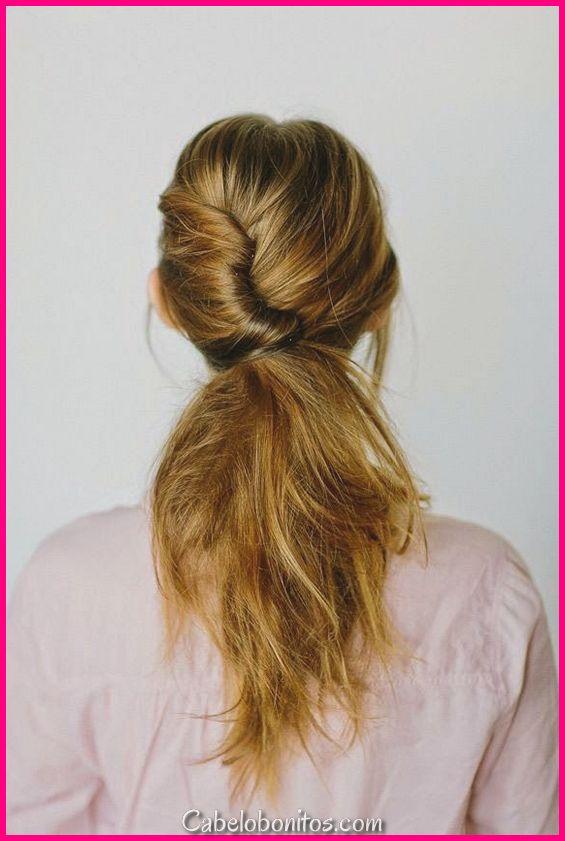 15 tipos de penteados rabo de cavalo - melhor estilo para as mulheres a usar
