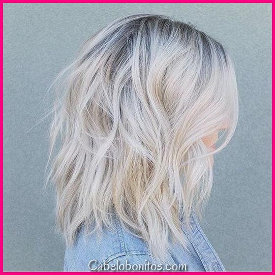 25 cabelo pequeno loira Balayage parece que você vai apaixonar