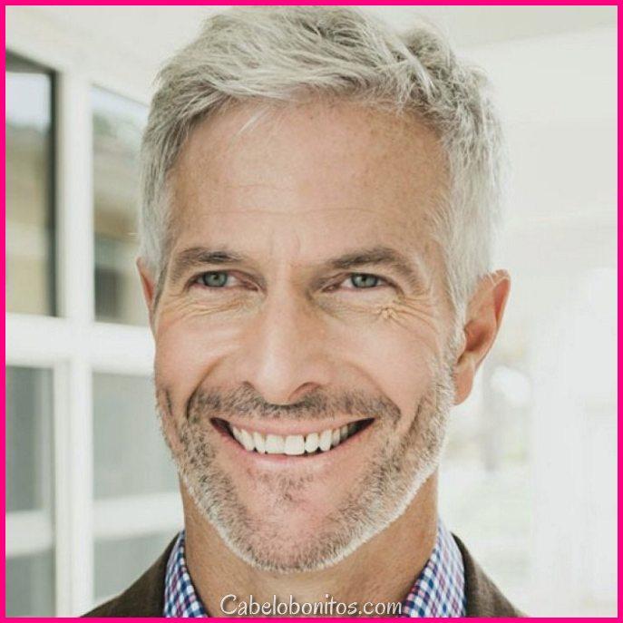 15 penteados para homens mais velhos olhar mais jovens