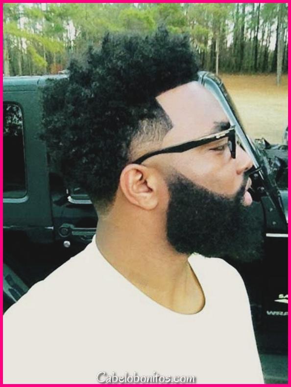 40 estilos de barba de homens negros - vivem muito a barba #Beardoxide!