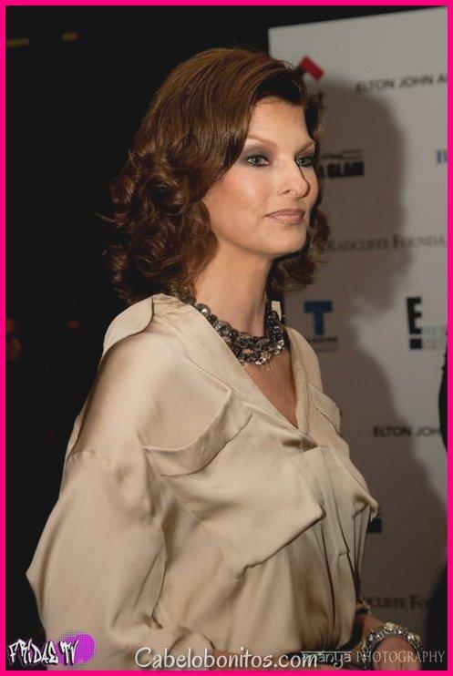 Penteados Linda Evangelista - penteados curtos mais exclusivos