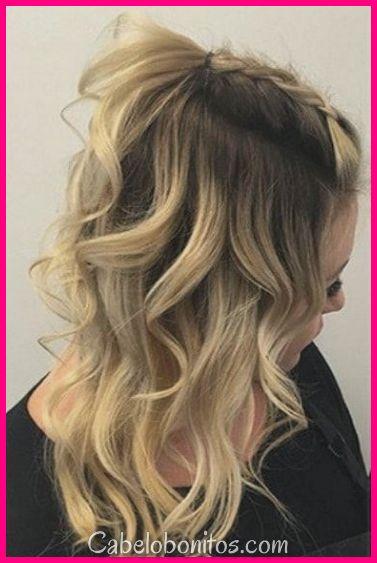30 queda penteados para mulheres para melhorar sua formosura