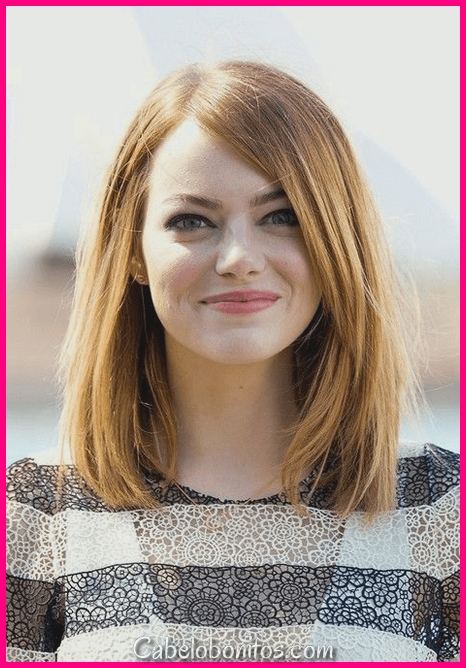 25 penteados mais legais para rostos redondos