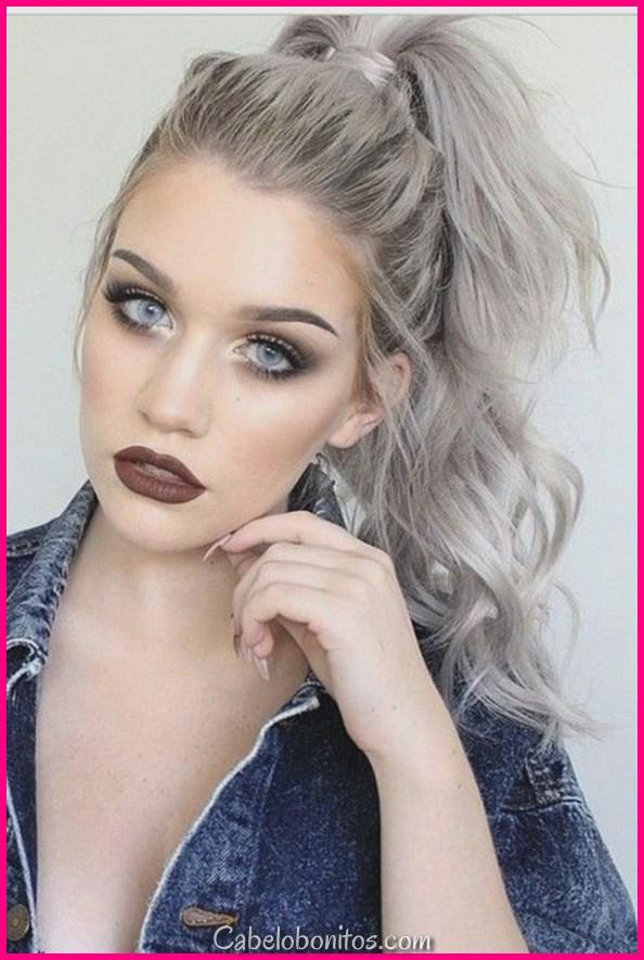 20 penteados mais quentes de cinza para mulheres mais legais