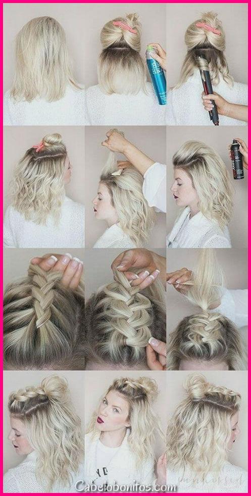 27 Penteados De Trança Para Cabelos Curtos Que São