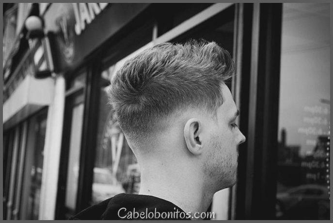 30 penteados curtos para homens - seja lítico e elegante