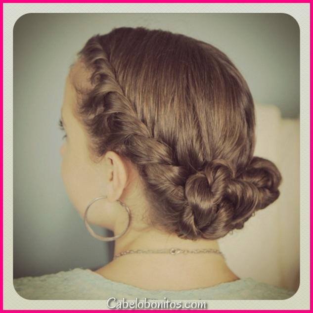 O penteado moçoila em algumas ideias originais a não perder