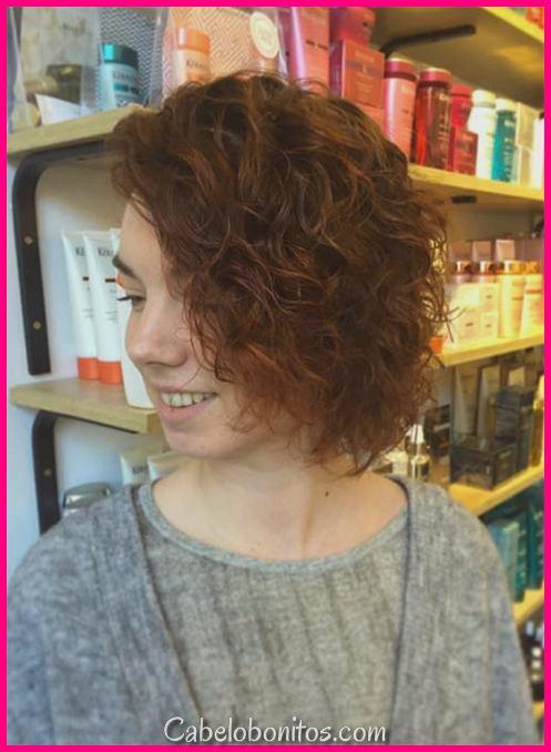 51 Penteados Encaracolados Curtos: Dicas para Cachos Curtos Saudáveis