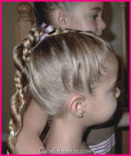 56 criativos penteados meninas para sua princesa
