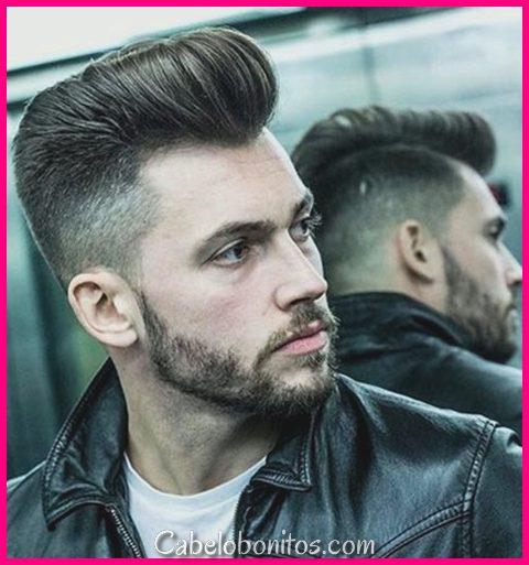45 Penteados Macho Pompadour para Homens 2018