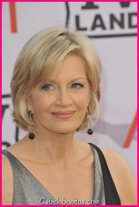 30 Melhores Penteados Curtos Para Mulheres Com Mais De 60