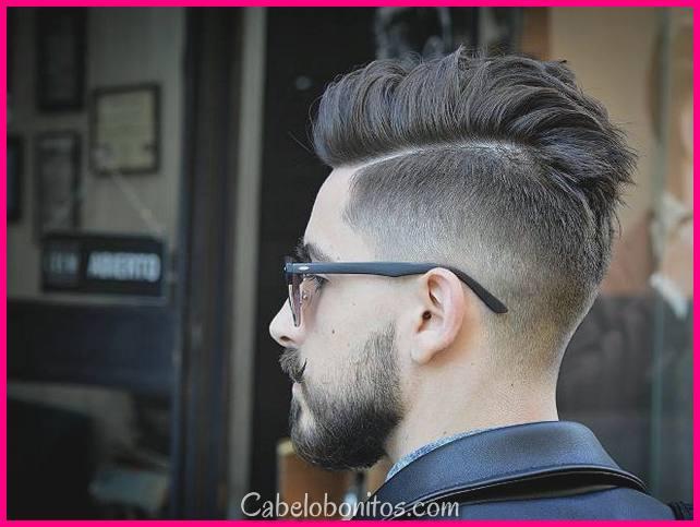 Top 30 melhores cortes de cabelo para homens e meninos em 2018