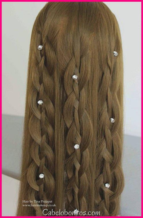 37 Half Up Half Down Hair Penteados Alguém gostaria paixão