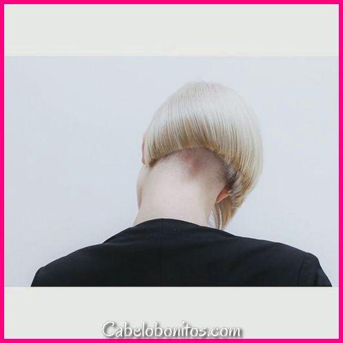 Penteado Undercut Top 40 Mulheres
