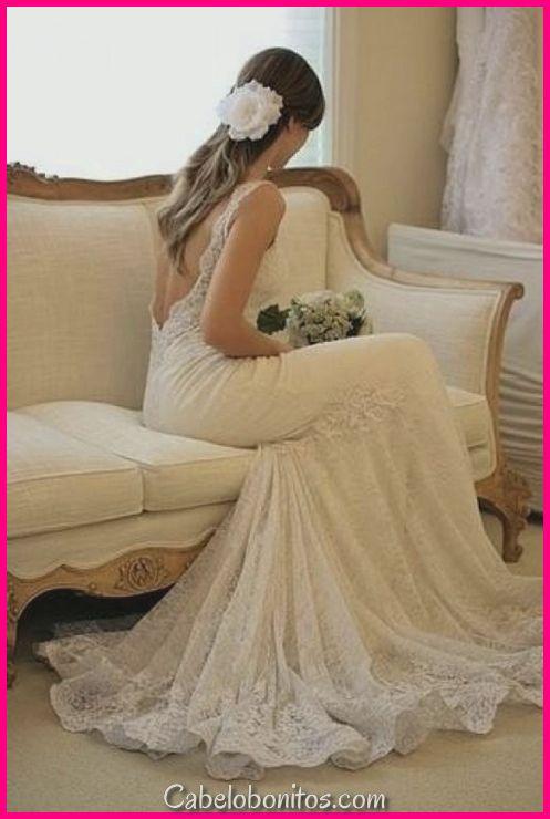 73 Penteados De Casamento Exclusivos Para Diferentes Decotes 2018